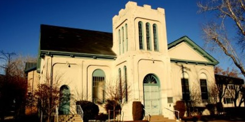 The current frontage. – First Presbyterian