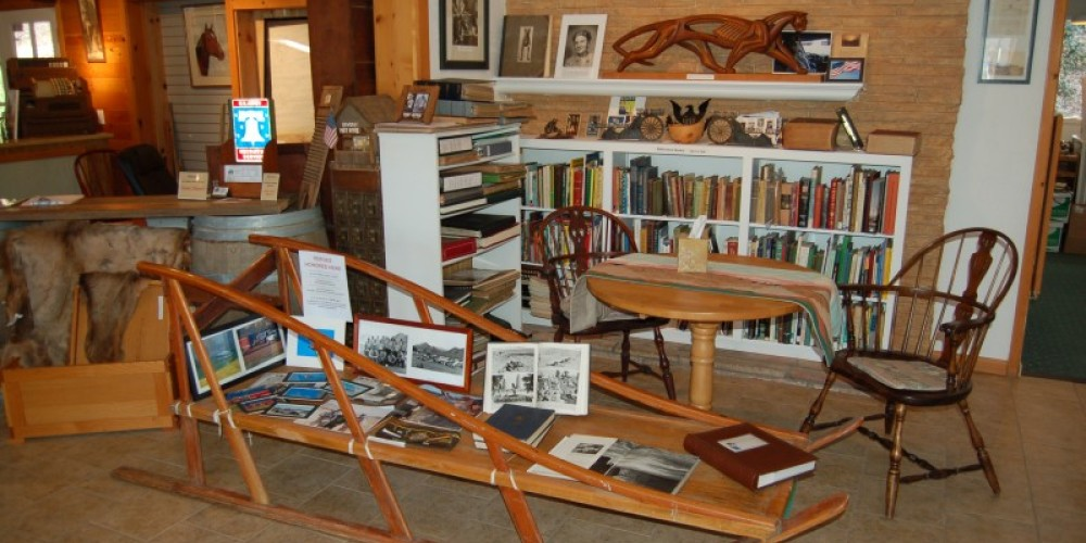 Reference Library, Three Rivers Museum – Tom Marshall