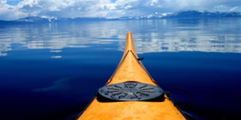 Kayaking on Tahoe – Ferrari's Crown Resort