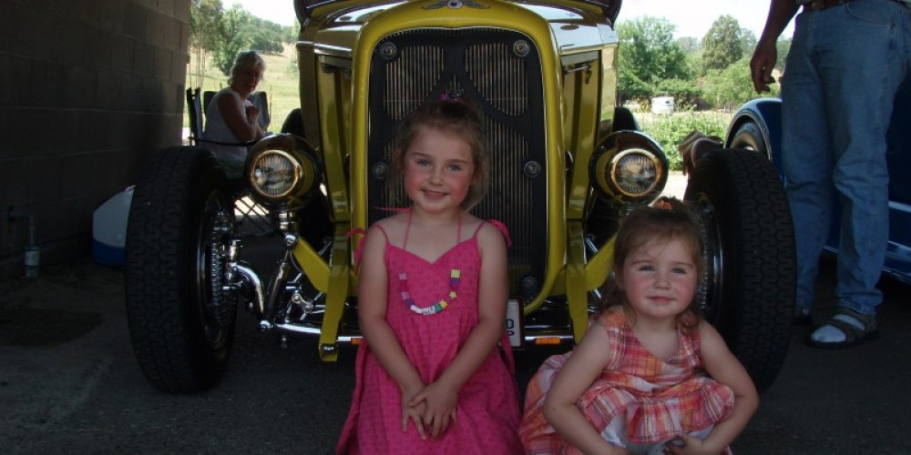 Cute kids and great looking car. – Dale Silverman