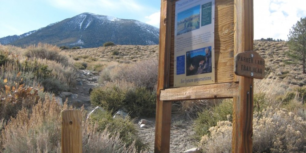 Parker Lake Trail Head