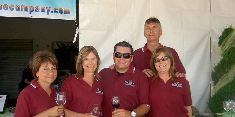 The Schafer family welcomes guests to San Joaquin Wine Company. – KC Pomering