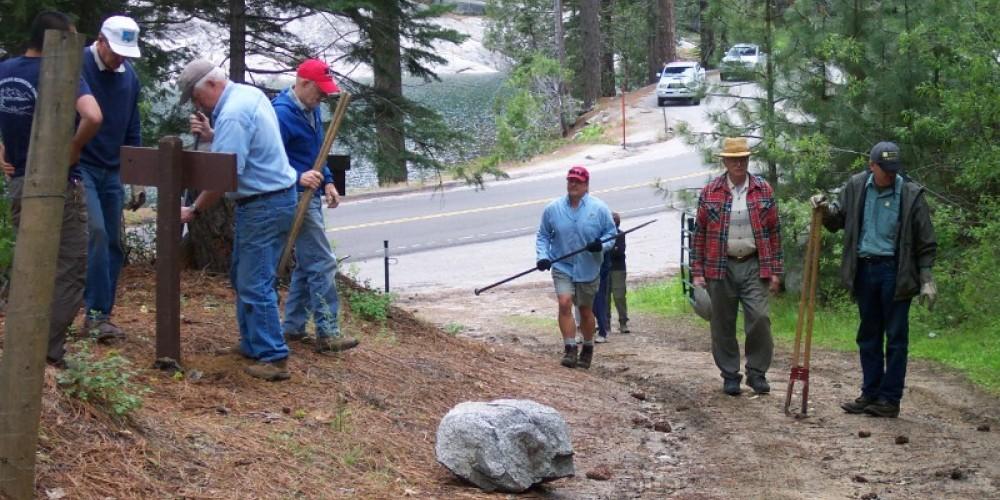 Trail Sign Installation