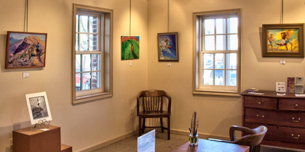 Inside the Fausel House Gallery – Bill Robinson