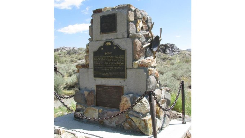 Bodie Historical Landmark marker – virtualtourist.com
