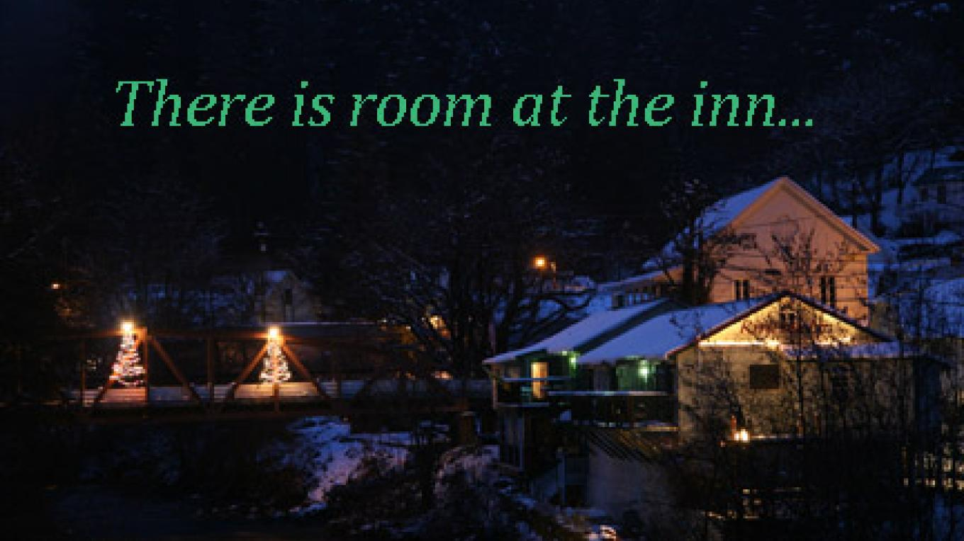 The Riverside Inn's Christmas card. – Mike or Nancy Carnahan