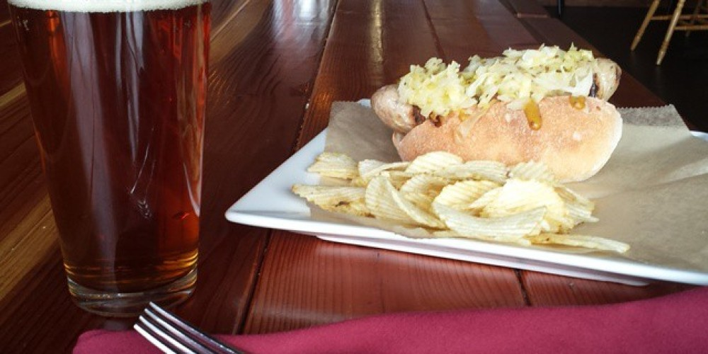 Beer and a Brat – mountain rambler brewery