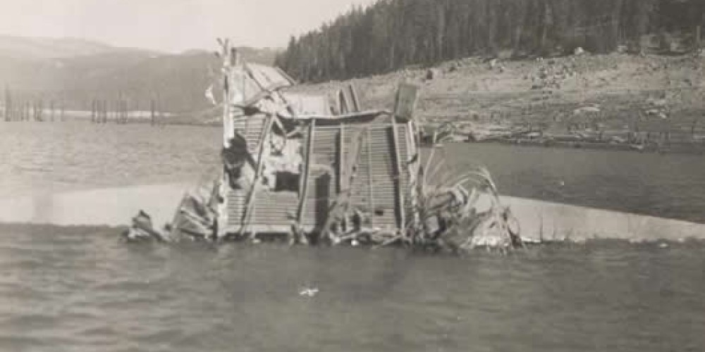 B-24 Bomber crash in Huntington Lake December 1943. – Huntington Lake Big Creek Historical Conservancy