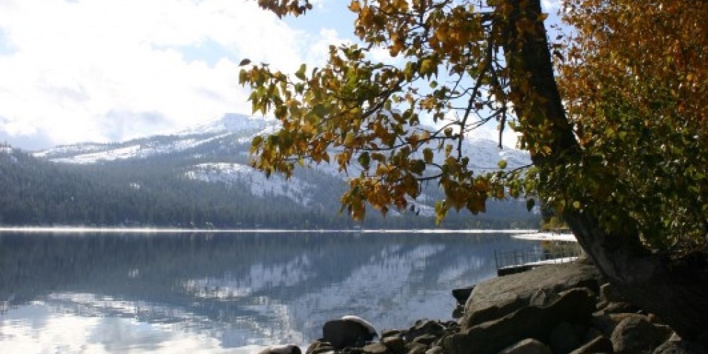 Donner Lake, Autumn – Dave Carter