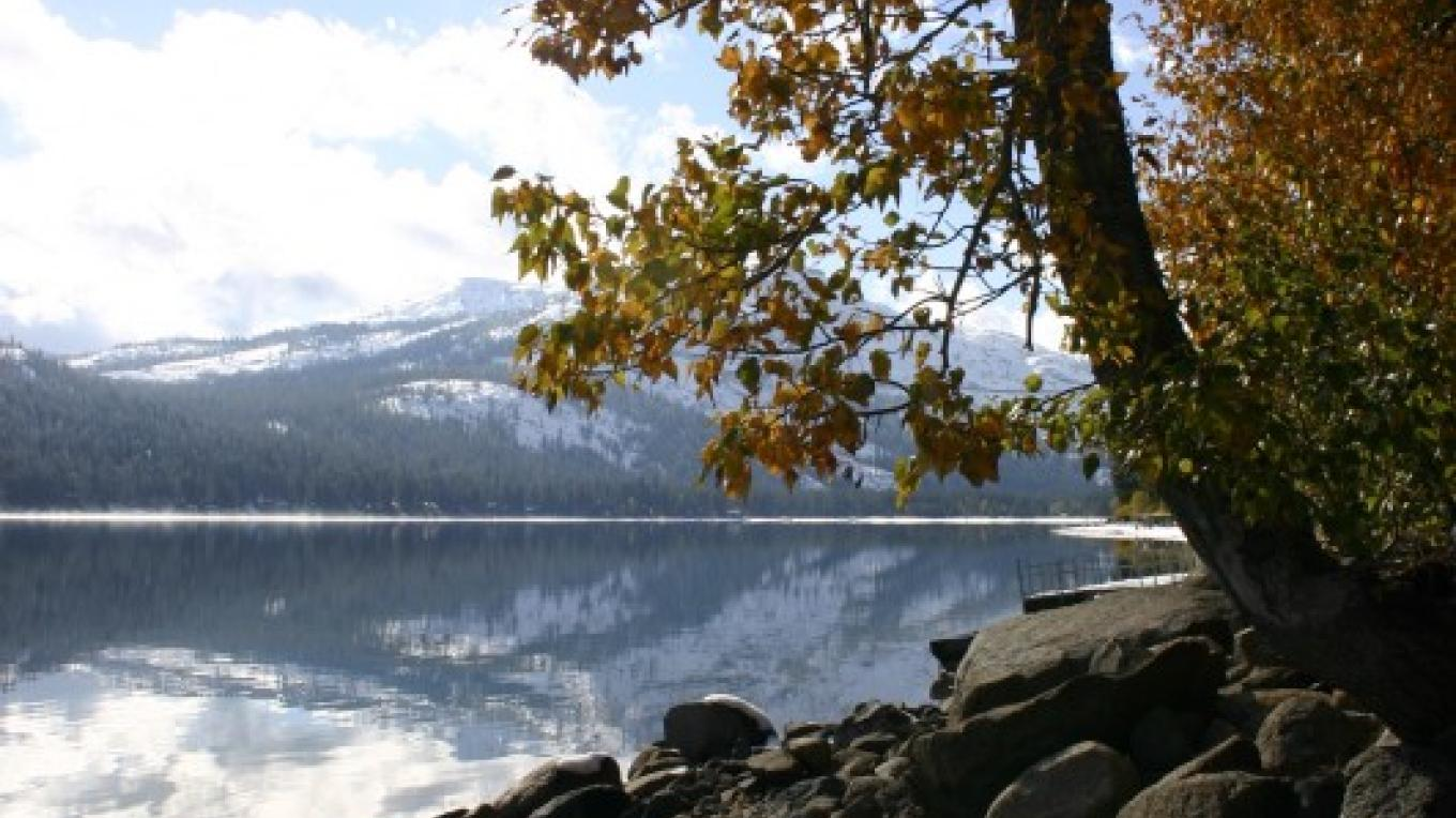 Donner Lake, Autumn – Dave Carter