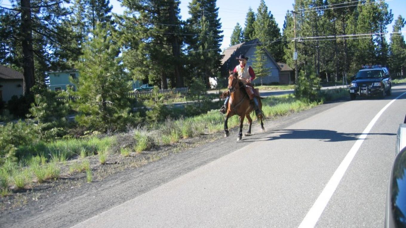 Ron on Pioneer Trail in Tahoe – XP Rider
