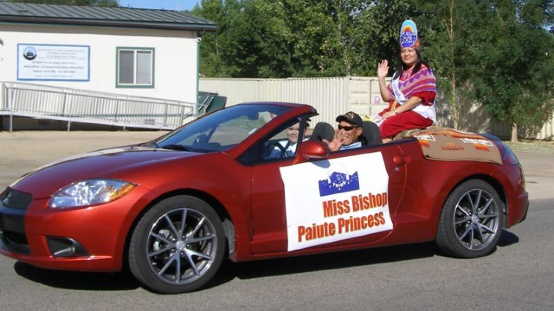 Indian Days Parade - Miss Bishop Paiute Princess – Staff