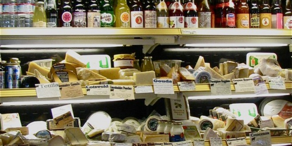 Cheeses, specialty meats and nostalgic drinks, plus the bread of your choice, are the perfect  ingredients for a pick nick. – Karrie Lindsay
