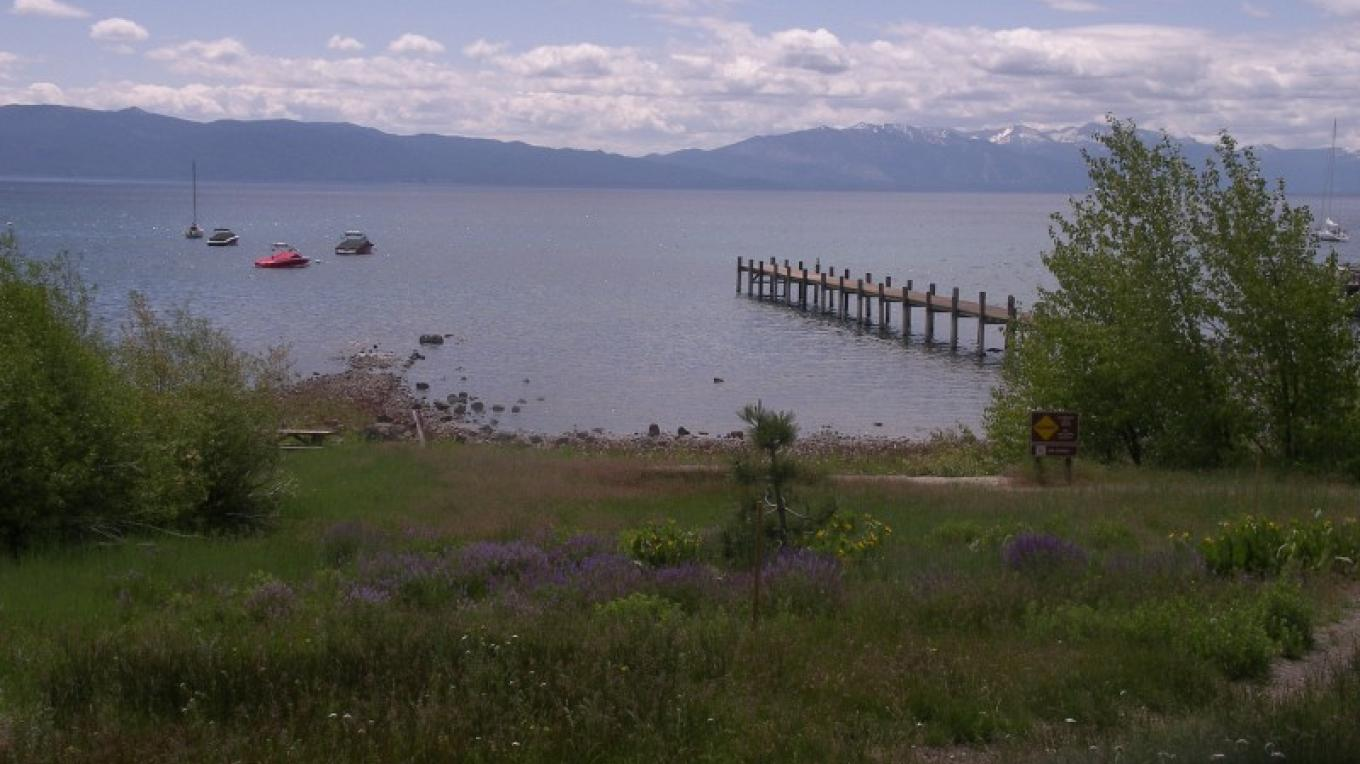 pier at Tahoe State Recreation Area campground – Susan Grove