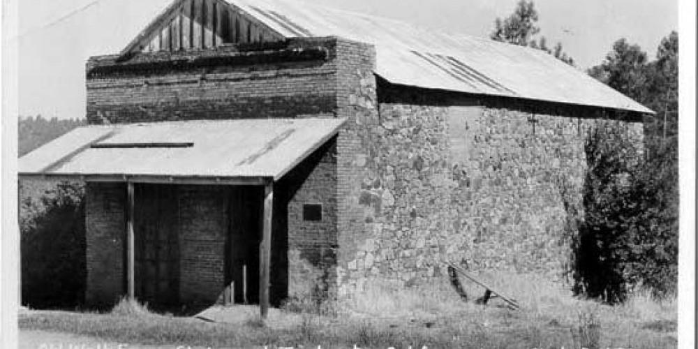 Vintage Postcard - Old Wells Fargo Station at Timbuctoo, California – Eastman's Studio