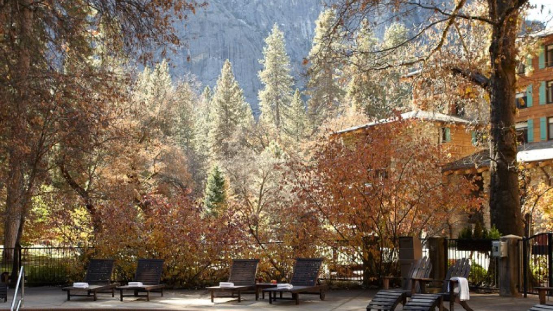 The Majestic Yosemite Hotel Pool