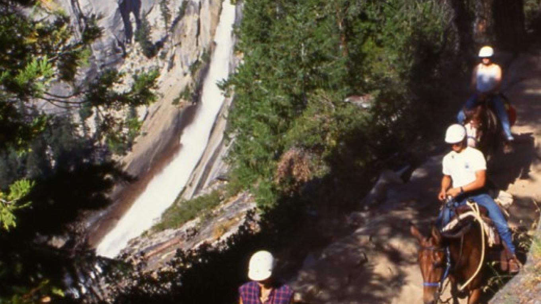 Custom Ride near Nevada Falls