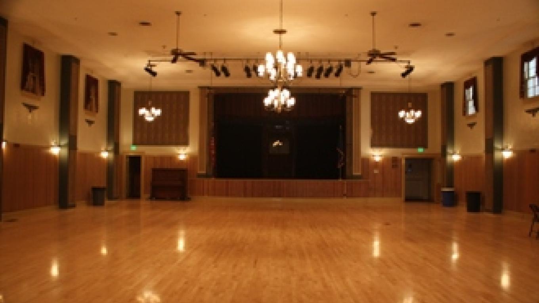 CVIC Hall interior – Town of Minden
