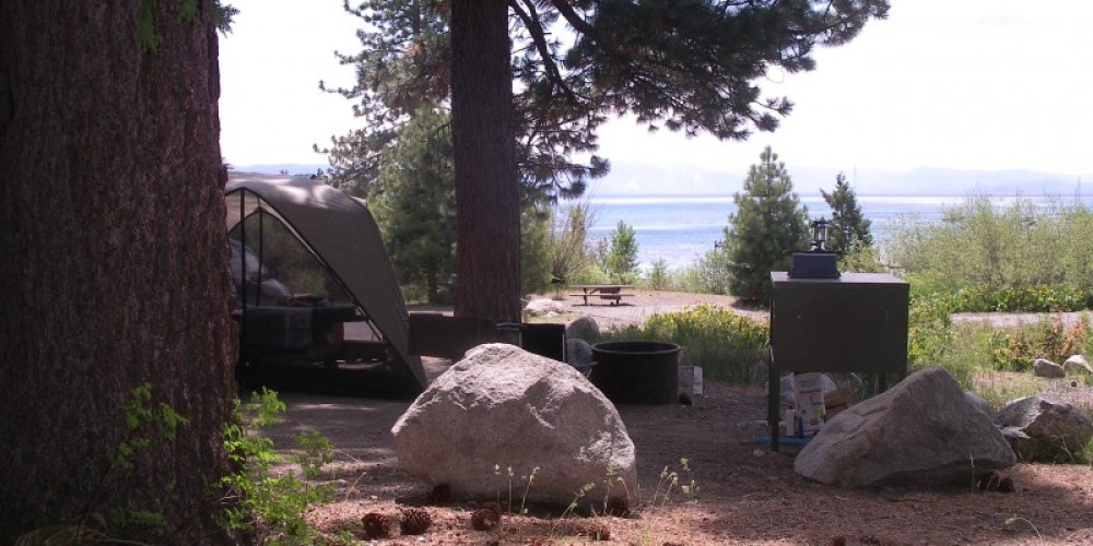 Tahoe State Recreation Area campground – Susan Grove