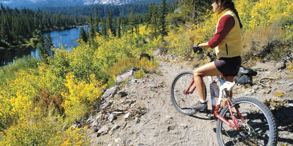 Mountain Biking- Mammoth Lakes Basin – Londie Paldesky
