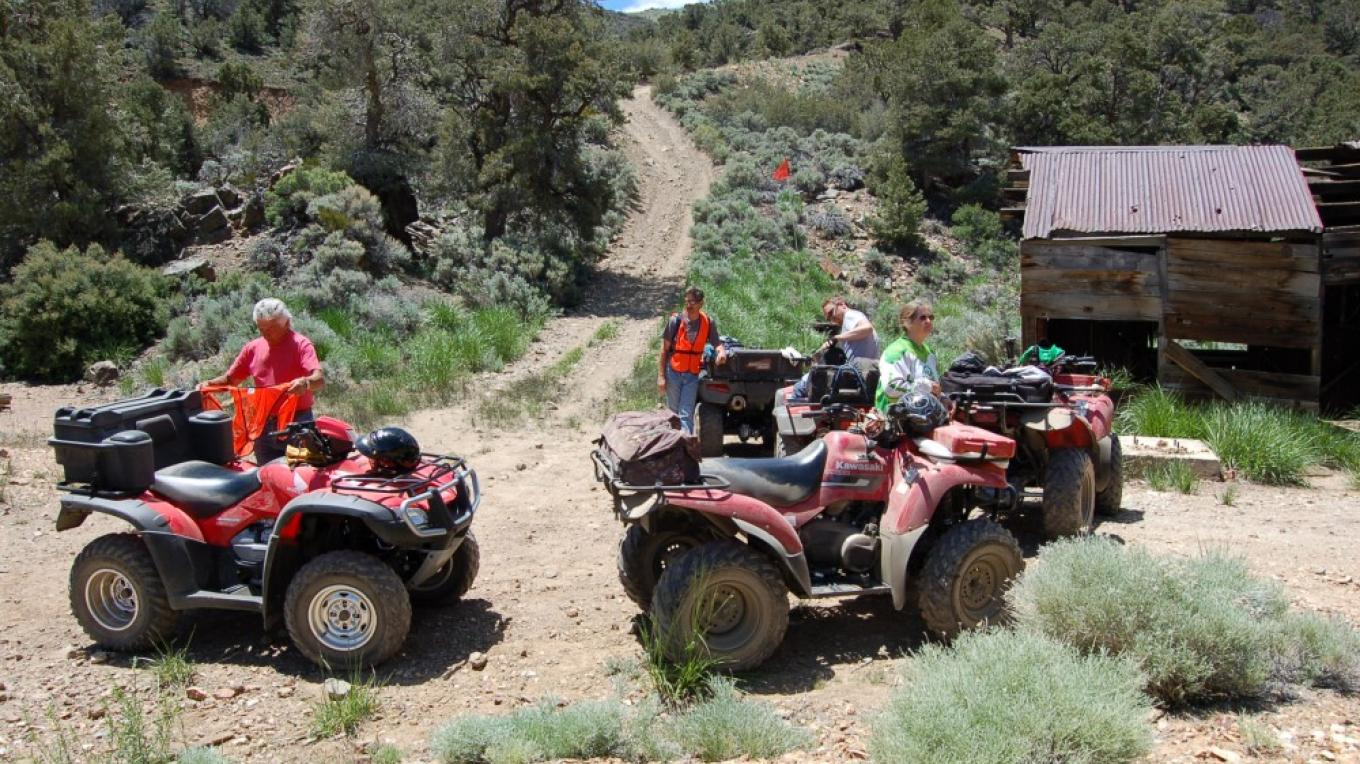 ATV\'s along the trail – NMCC