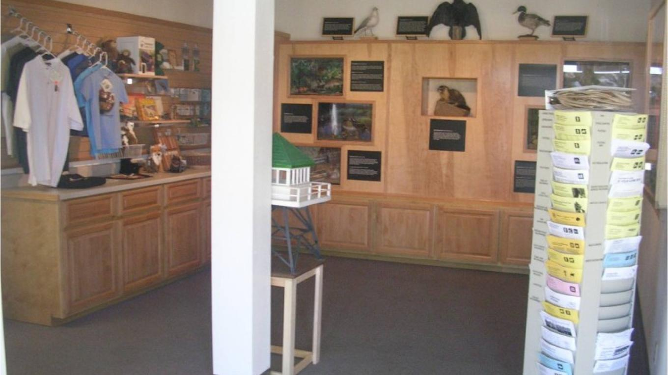Inside the Lake Isabella Visitor Center – Geri Adams