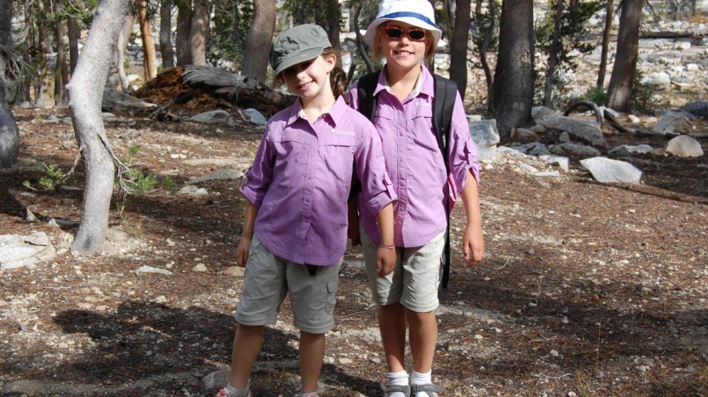 "\""The mini\'s\"" on our Ansel Adam\'s High Sierra Camp Family pack trip. – julia elman"