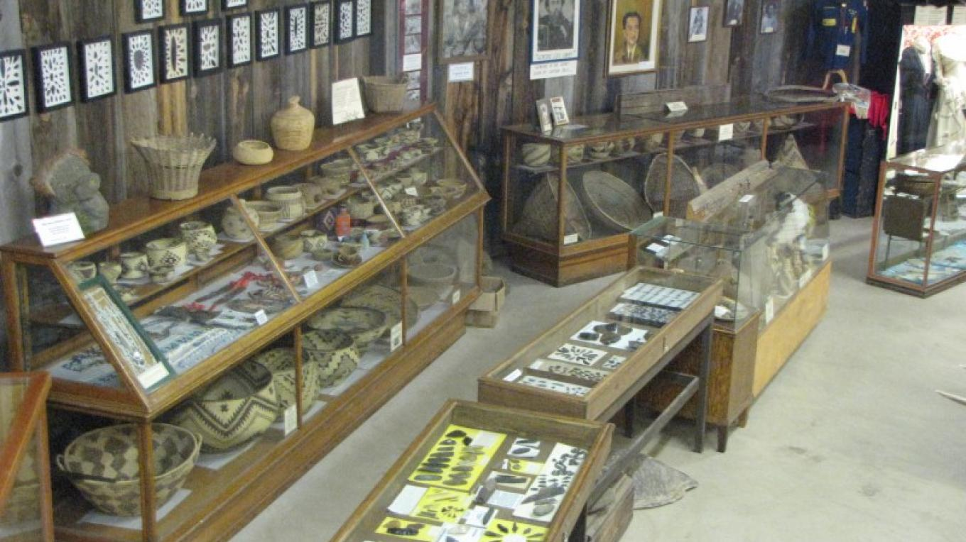The Museum features collections of cultural resources. – Ben Miles