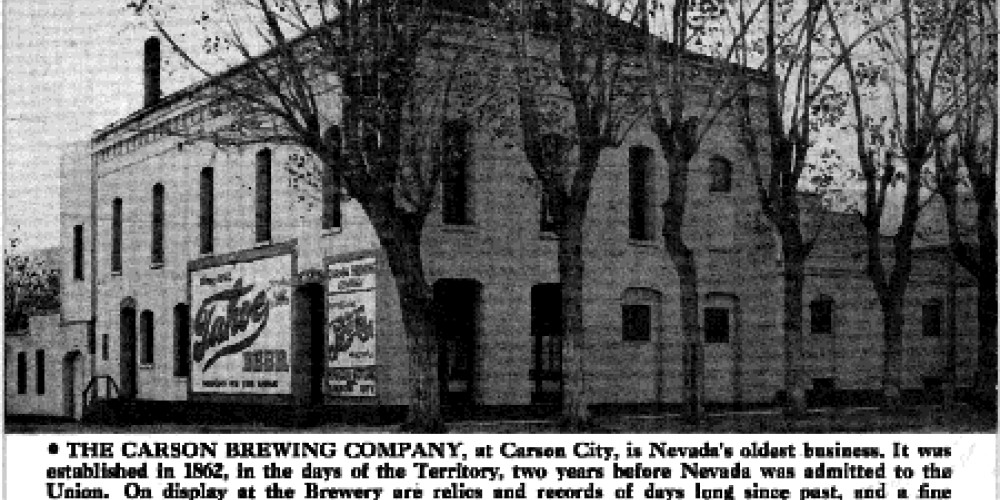 The original Carson Brewery, now the Brewery Arts Center
