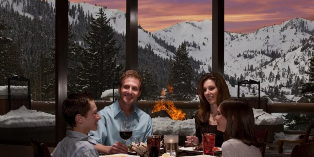 Dining at Six Peaks Grille. – Tom Zikas