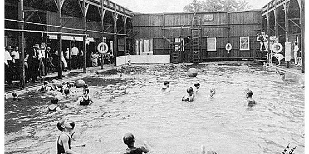 As this historic photo shows, Keough\'s Hot Springs has been warming the sore muscles of Sierra visitors for  generations. – Keough\'s Hot Springs