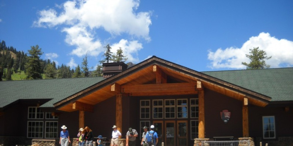 The Kohm Yah-mah-nee Visitor Center – by Allison Scull