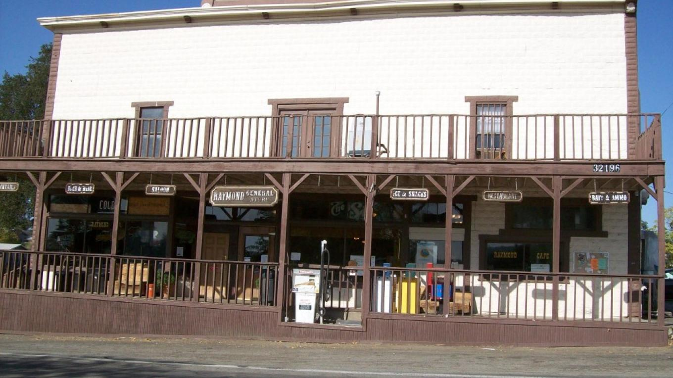 Raymond General Store, formerly Downey\'s Store, built 1890, updated 1914 – Lynn Northrop