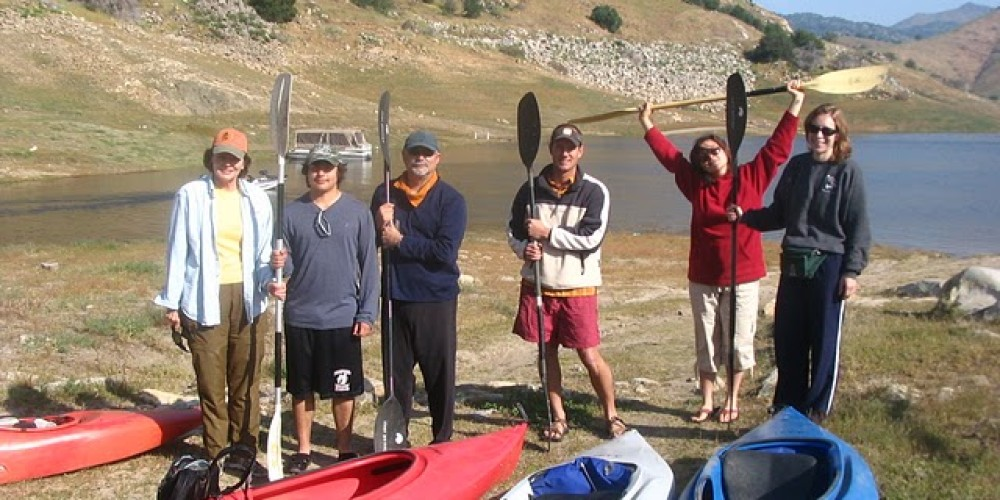 Kayaking adventure on Lake Kaweah – Provided by Sequoia Natural History Assc