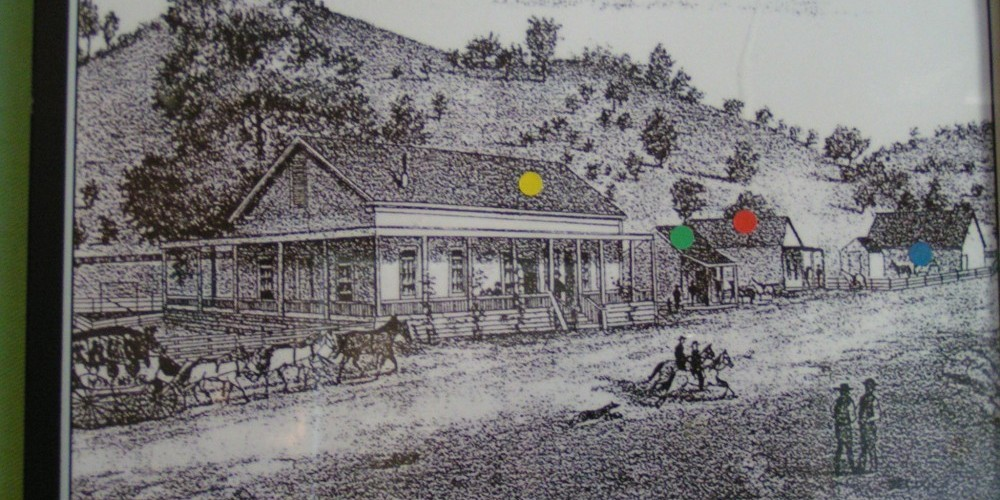 The St. Charles Hotel in Coarsegold, 1884 to 1928; part of the museum collection of pictures. – Jack Good
