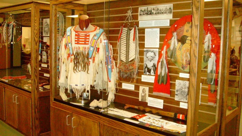 One of the many Native American displays – Joyce Gunn