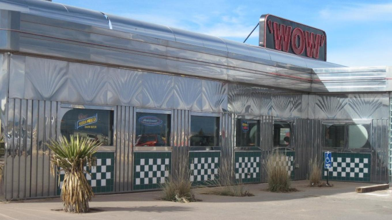 WOW Diner offers exceptional food and service behind this retro stainless facade. – SO