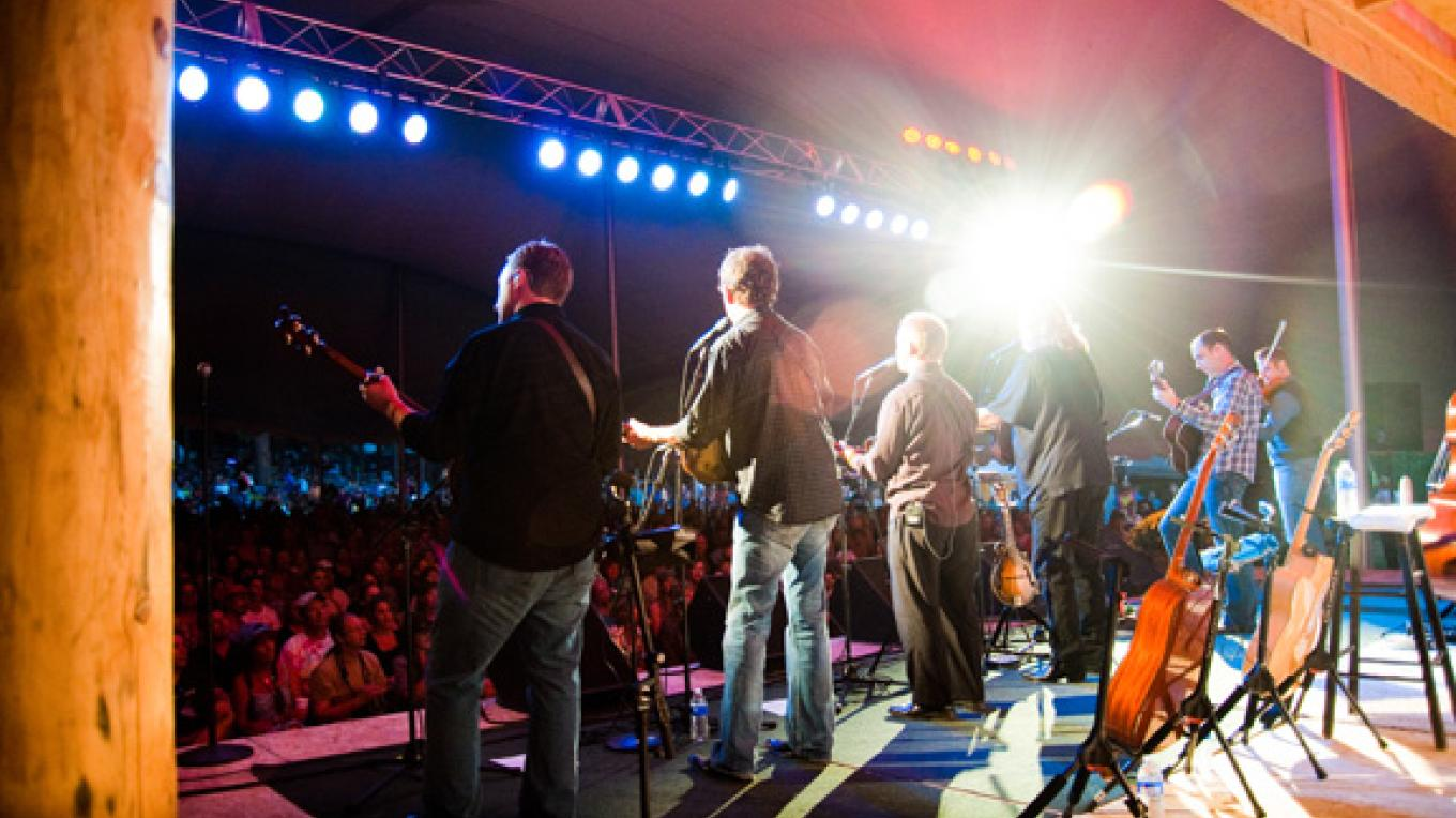 Ricky Skaggs was a headliner at the 2010 festival. – Mike Pierce