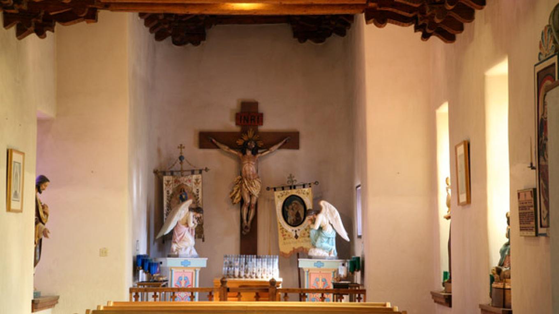 Capilla de Nuestra Senora del Carmel (Our Lady of Carmel Chapel). – Richard L. Rieckenberg
