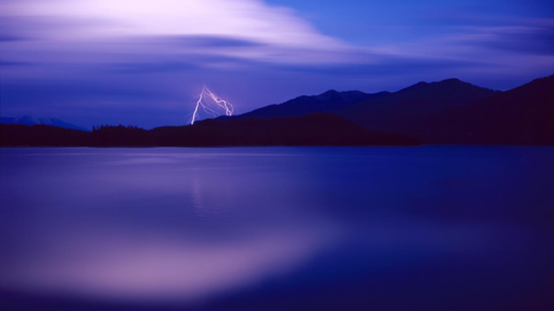 Lightning Giclée on paper – Larry Steber