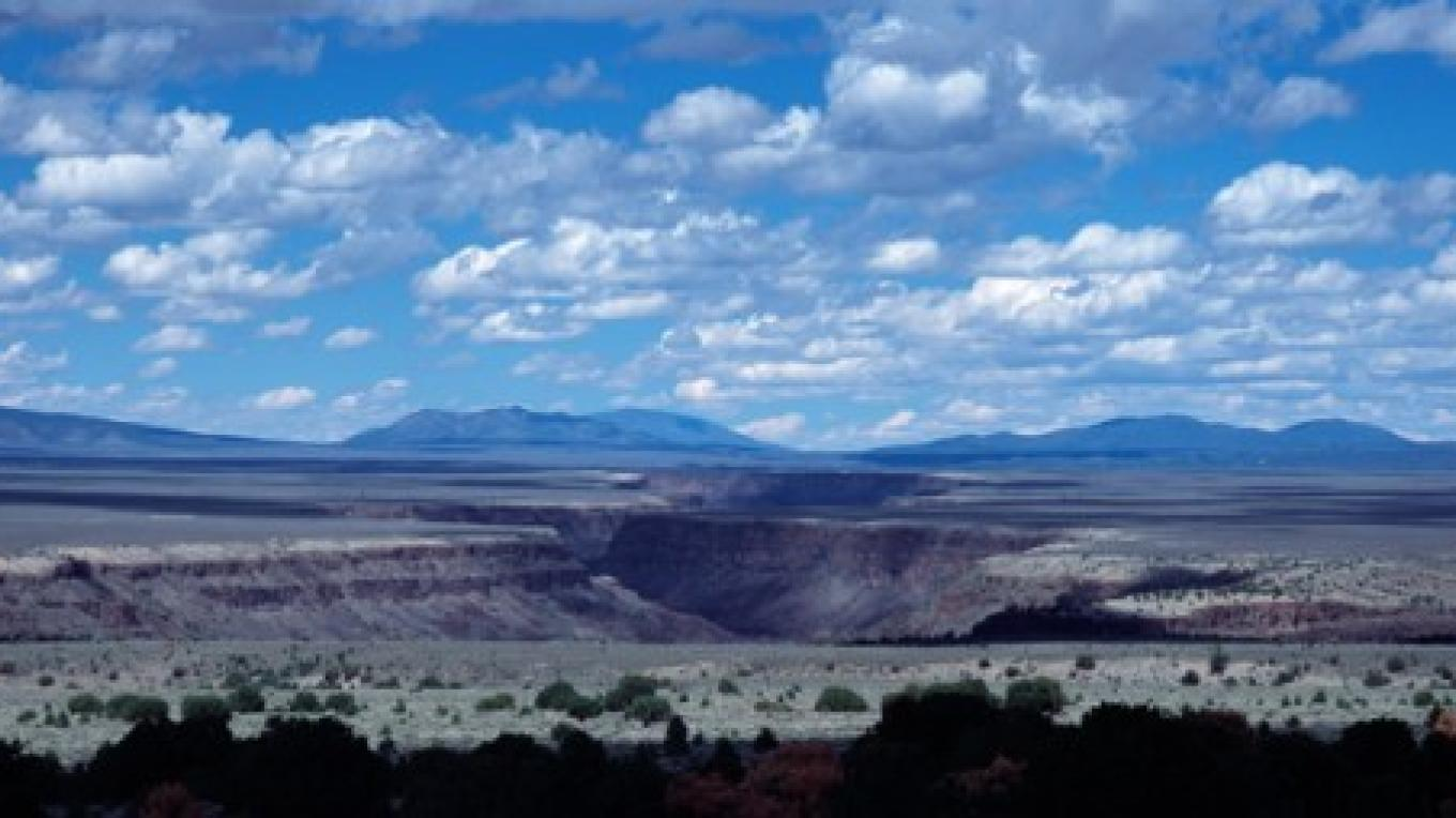 Rio Grande Gorge near Taos, NM – Terry Thompson