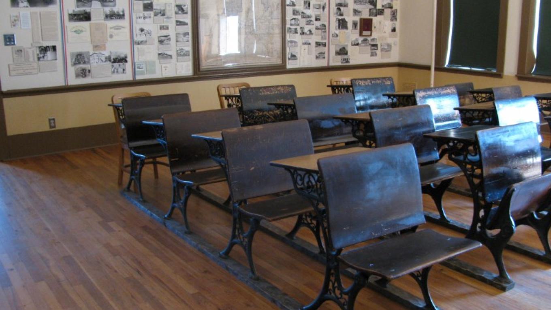 Restored 1908 Classroom