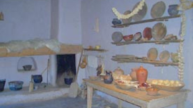 The hacienda's original cocina or kitchen.