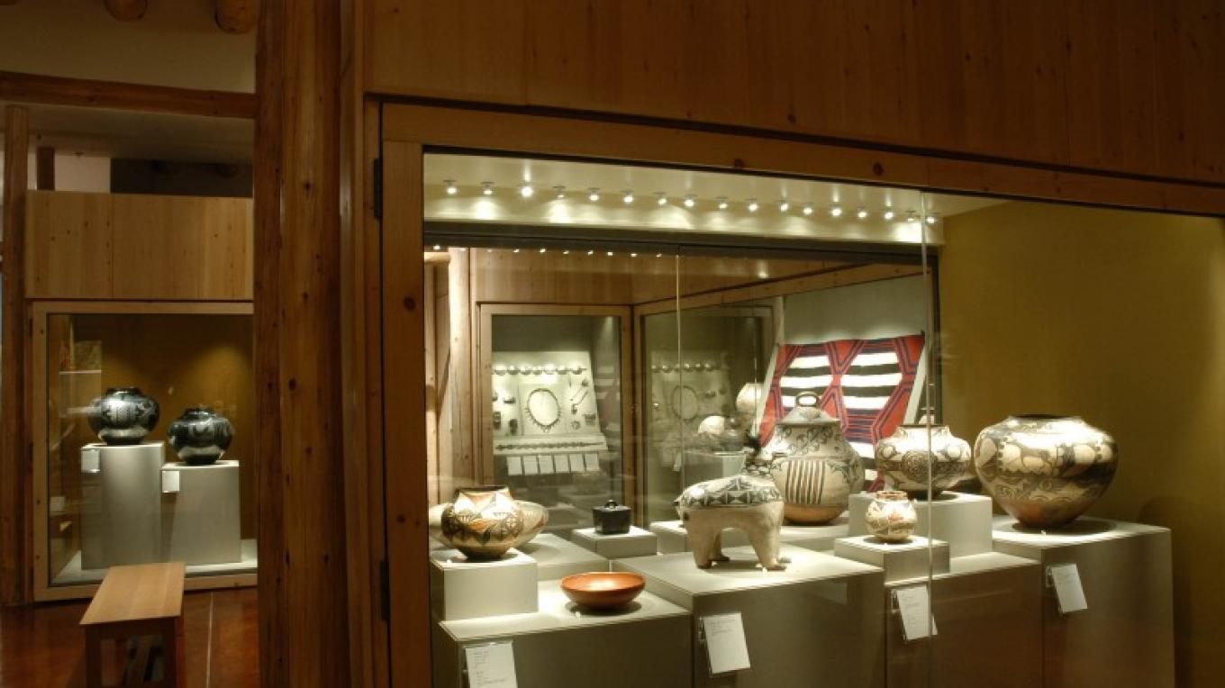 Museum of Indian Arts & Culture - exhibition display