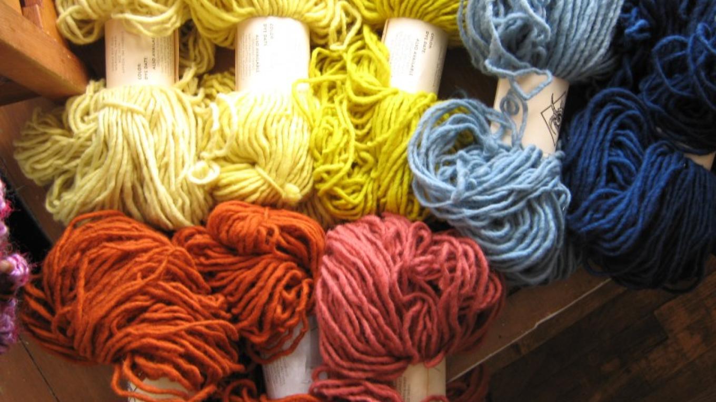 Beautiful hand-dyed fine apparel yarns. – Nancy Sullivan