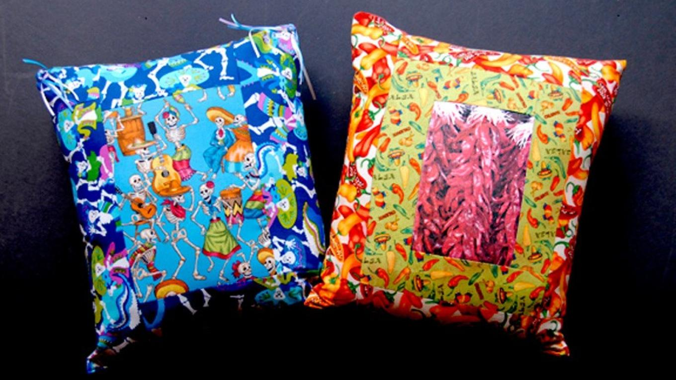 Pillows by Donna Lea – Theodore Greer