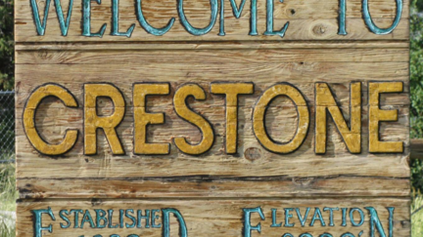 The unique nature of Crestone is exemplified by it's sign. – Carmin