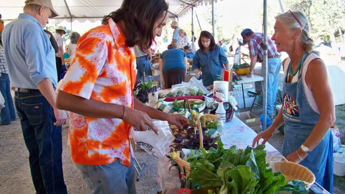 Rising Buffalo buys produce from Jill at the Community Table – RFM