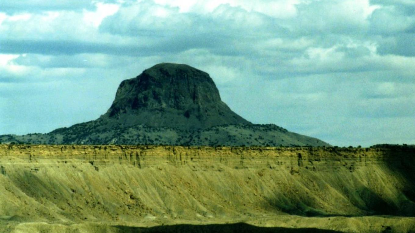 Cabezon Peak and the Cabezon Peak Wilderness Study Area. – Jim O'Donnell