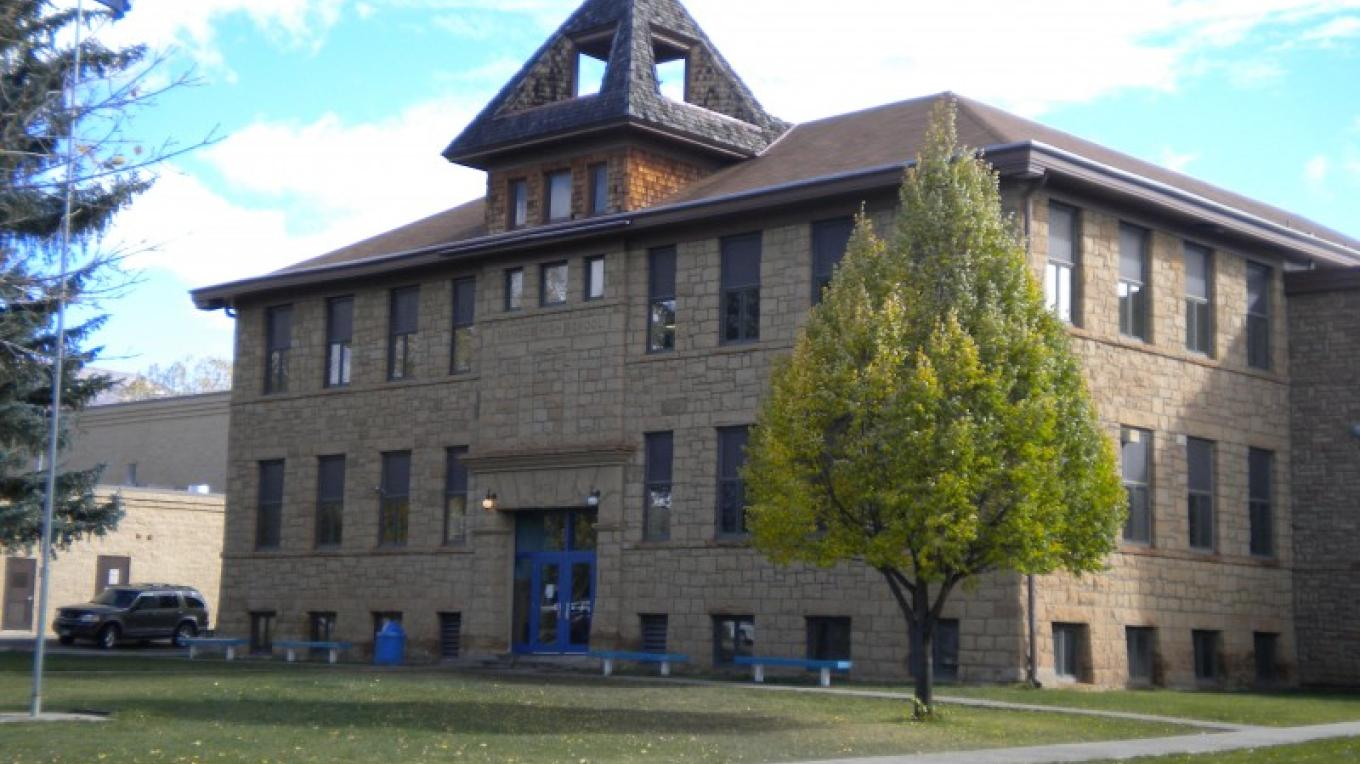 Historic Mancos High School, the oldest continually operating high school in the state of Colorado – Rebecca Levy